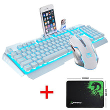 Wired LED Backlit Multimedia Gaming Keyboard
