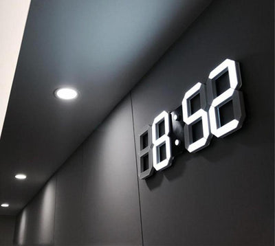 Modern Digital LED Clock