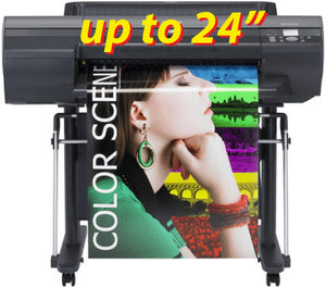 Wide Format Poster - up to 24""