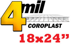 4mil Coroplast Sign 18x24""