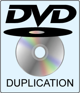 DVD Duplication (2-Discs) in Dual DVD Cases