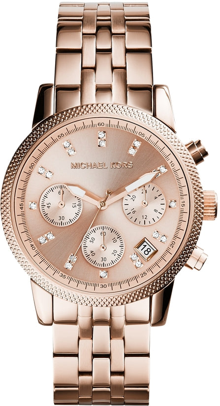 Ritz Chronograph Rose Gold Tone