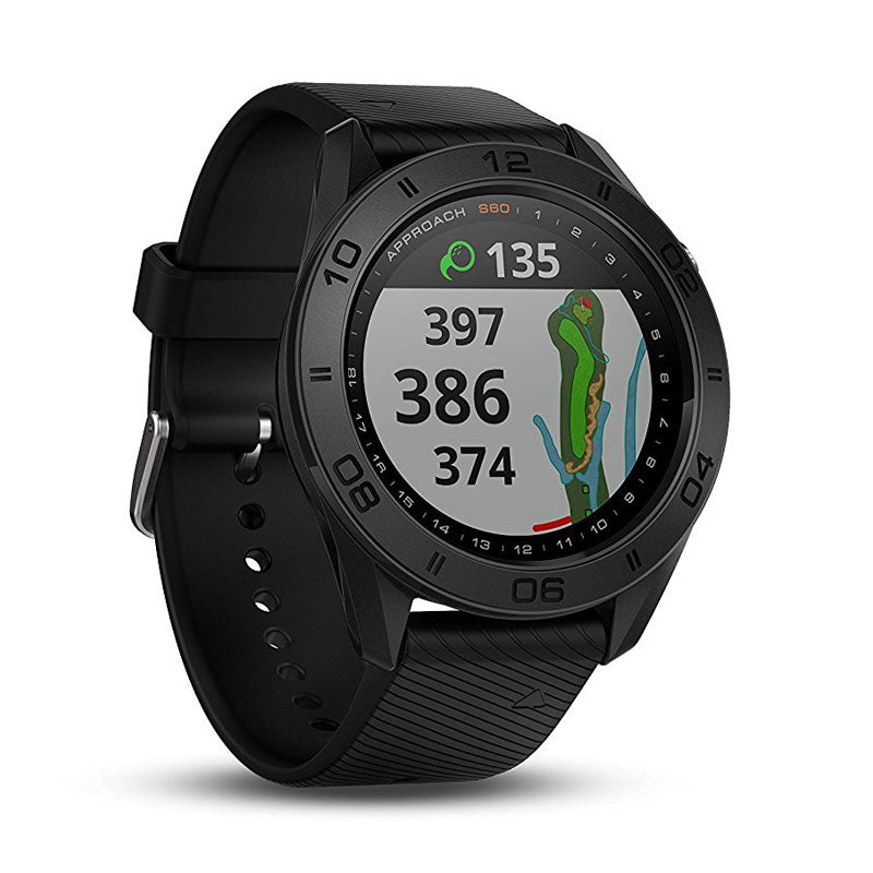 Garmin Approach® S60 Black with Black Band