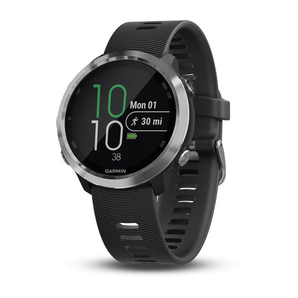 Garmin Forerunner® 645 Black with Stainless Hardware