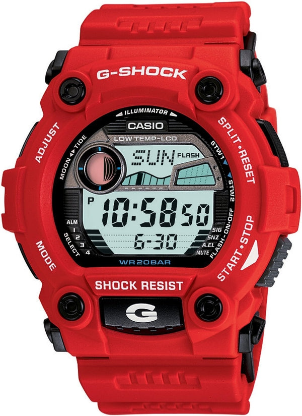 G- Shock Rescue Red Multifunction Digital Resin Mens Watch G7900A-3