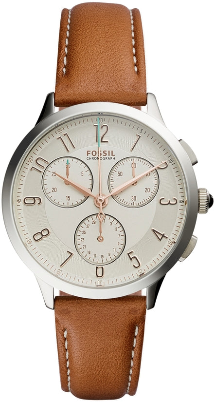 Abilene Chronograph Brown Leather