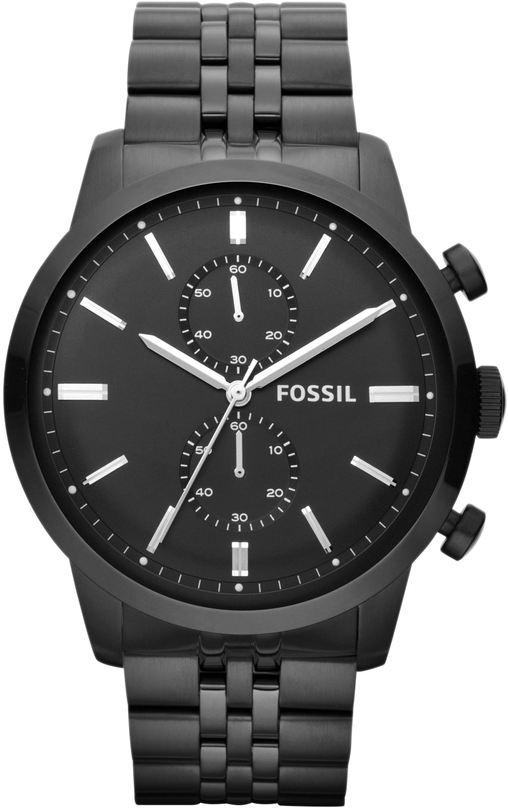 Townsman Chronograph Black IP