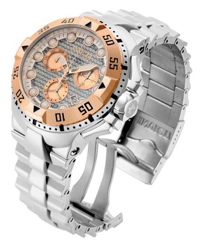 Excursion Men's Stainless Steel Rose Gold Dial