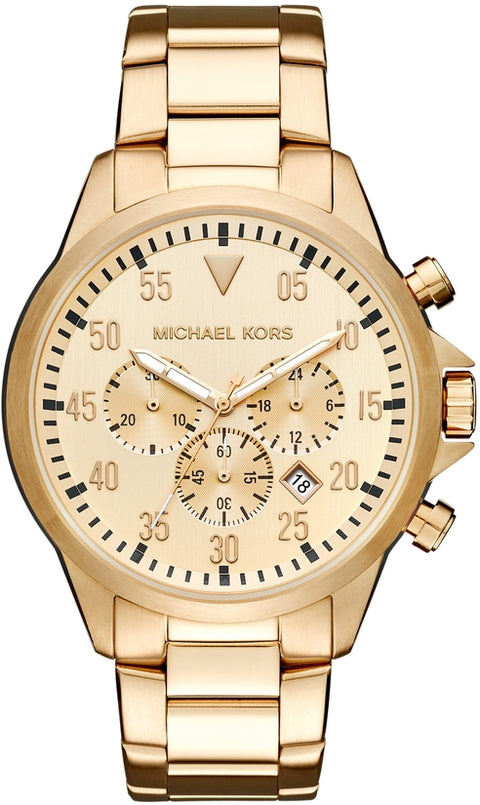 Gage Chronograph Gold Tone