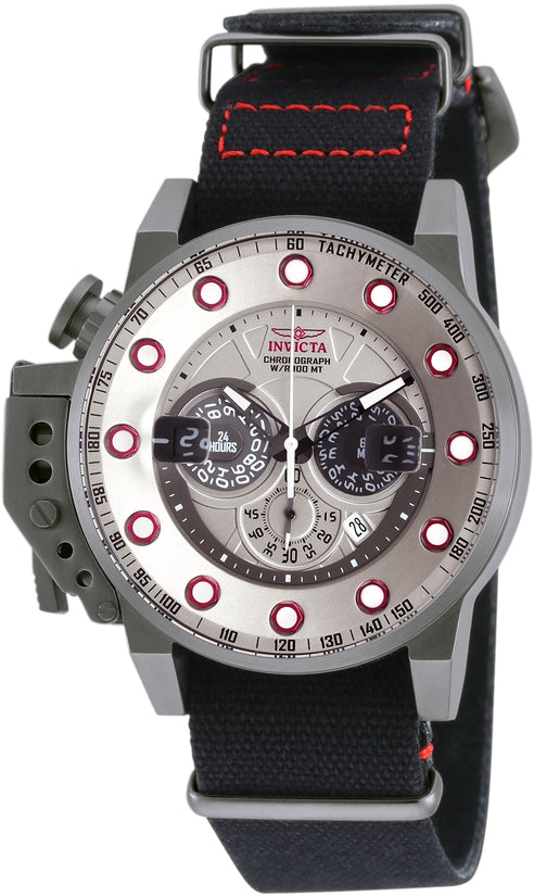 I-Force Men's Riffle Silver Dial