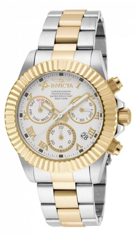 Pro Diver Men's Stainless Steel White Dial