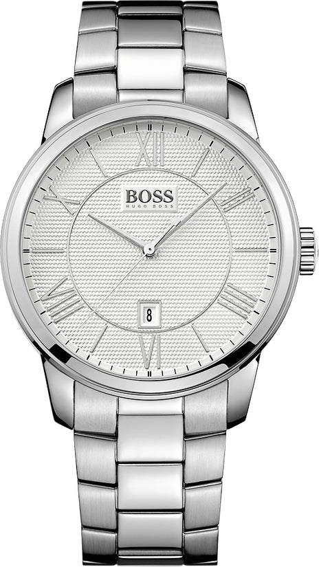 Classico Men's Stainless Steel Silver & White Dial