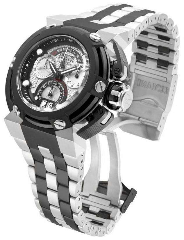 Reserve Men's Stainless Steel Silver Dial