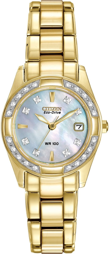 Regent Gold Tone 28 Diamonds
