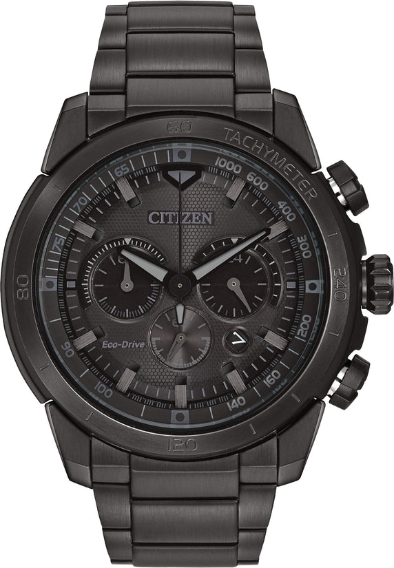 Ecosphere Chronograph Black IP All