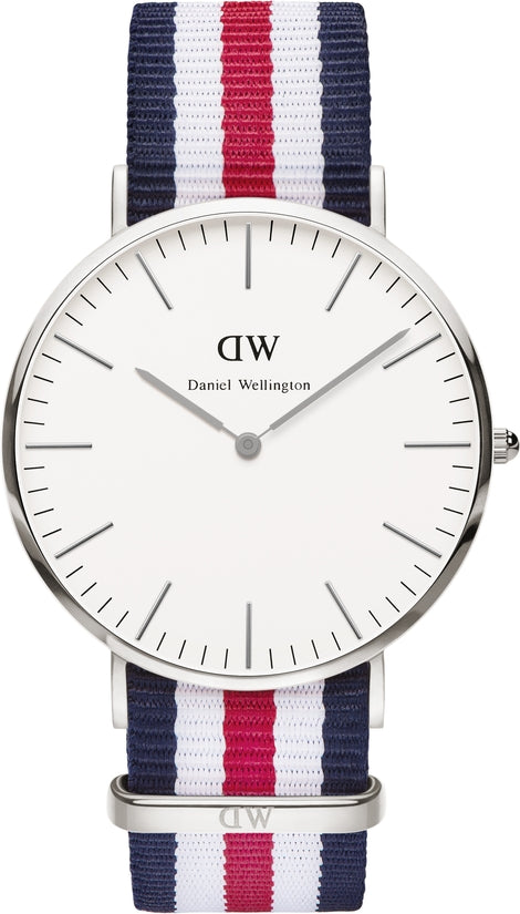 Classic Canterbury Silver 40mm