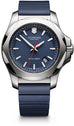 241688.1 INOX Blue Rubber Removable Bumper Mens Watch