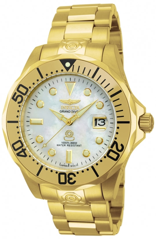 Pro Diver Men's Stainless Steel Silver Dial
