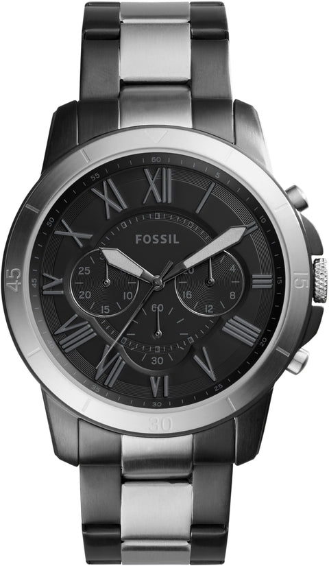 Grant Sport Chronograph Black IP Stainless Steel