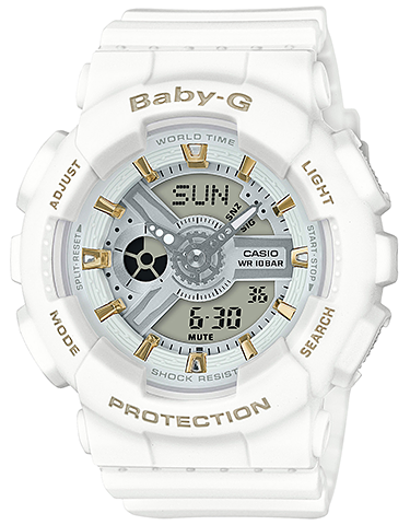 Men's Gold Accent Series White