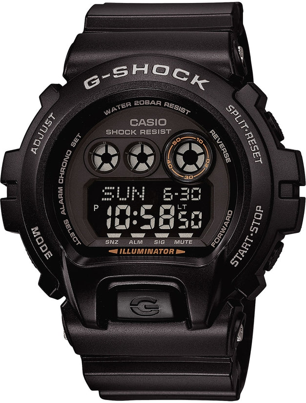 G-Shock Classic Series Digital Black Dial Resin Strap Men's Watch GDX6900-0