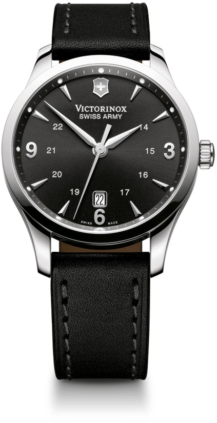 Infantry Black Dial & Leather