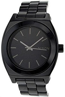 Men's Black Stainless Steel