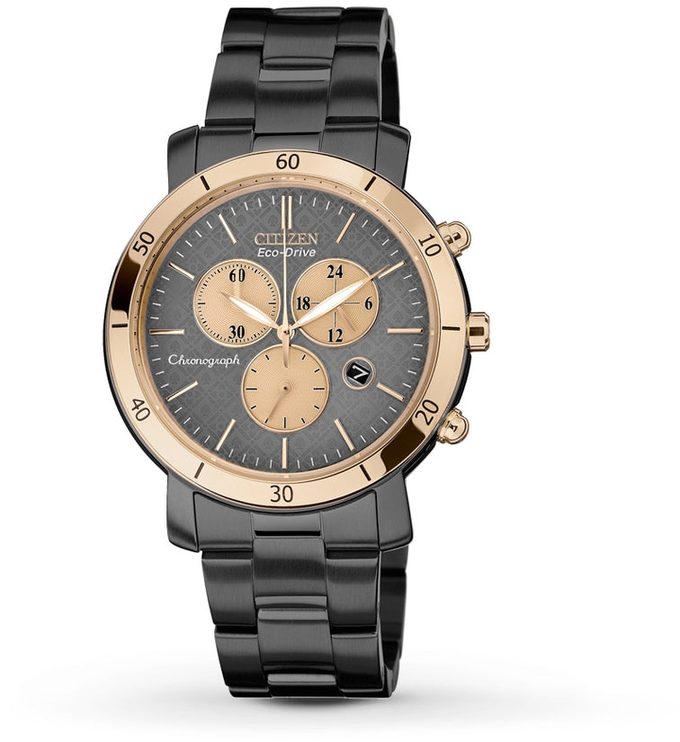 AML Chronograph Black IP