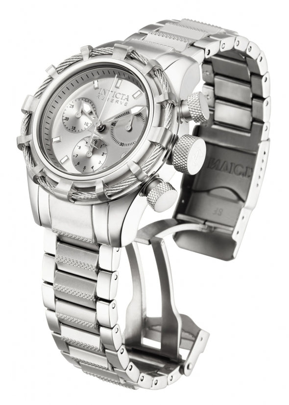 Bolt Women's Stainless Steel Silver Dial