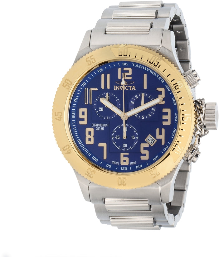 Russian Diver Men's Stainless Steel Blue Dial