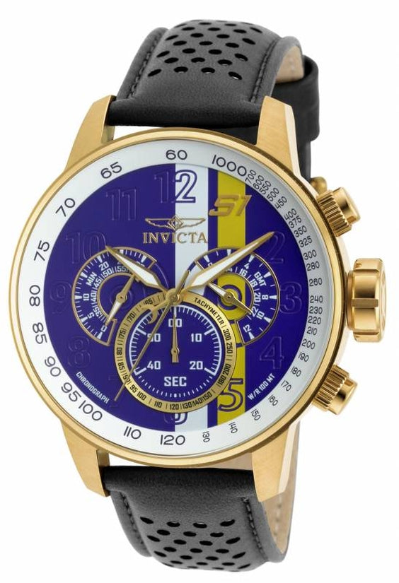 S1 Rally Men's Leather Purple Dial
