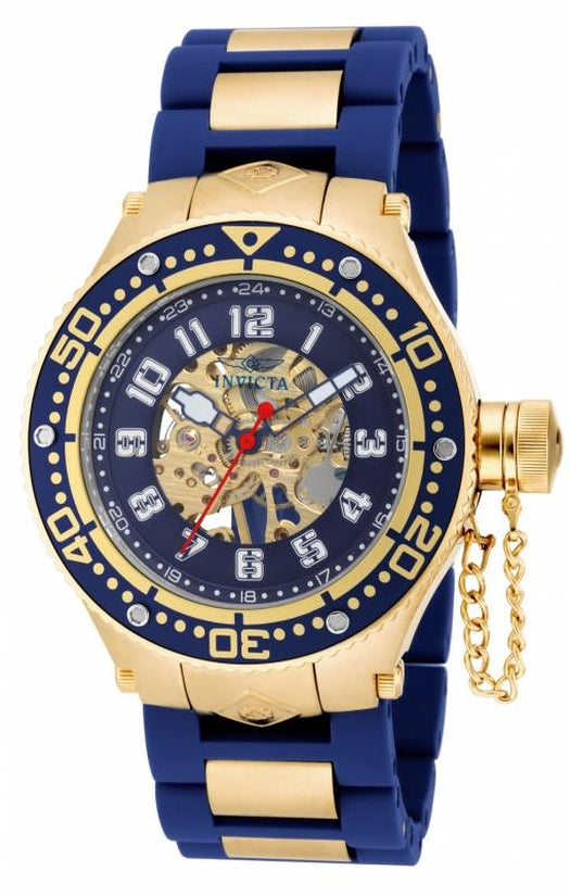Corduba Men's Polyurethane/Stainless Steel Blue Dial