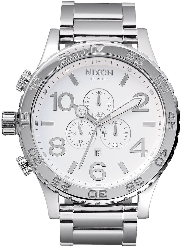 51-30 Chrono High Polish / White