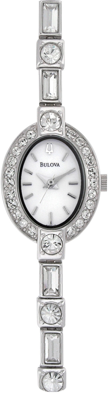 Crystals White Dial