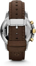Dean Chronograph Brown Leather