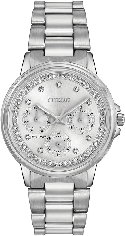 Silhouette Crystal Multifunction Silver Tone