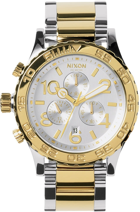 42-20 Chrono Silver / Light Gold