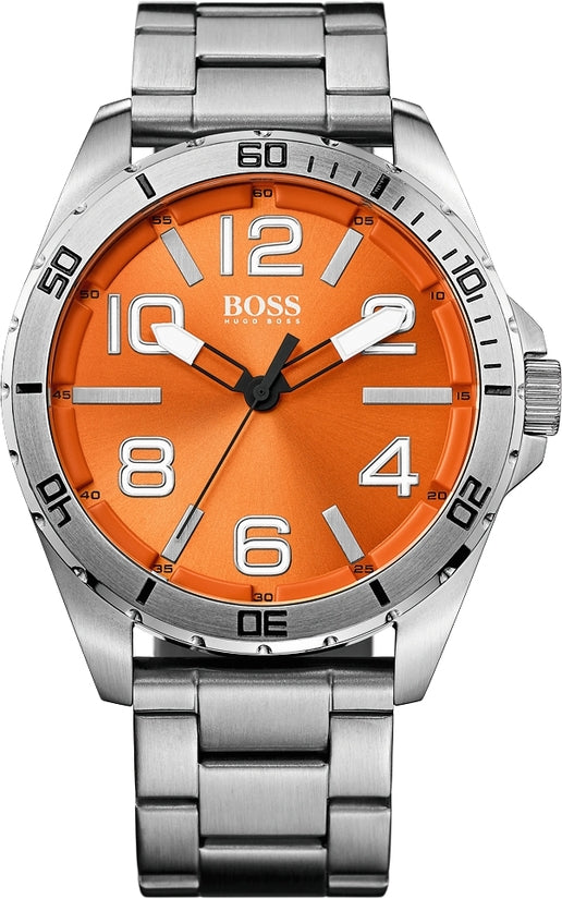 HO7004 Men's Stainless Steel Orange Dial