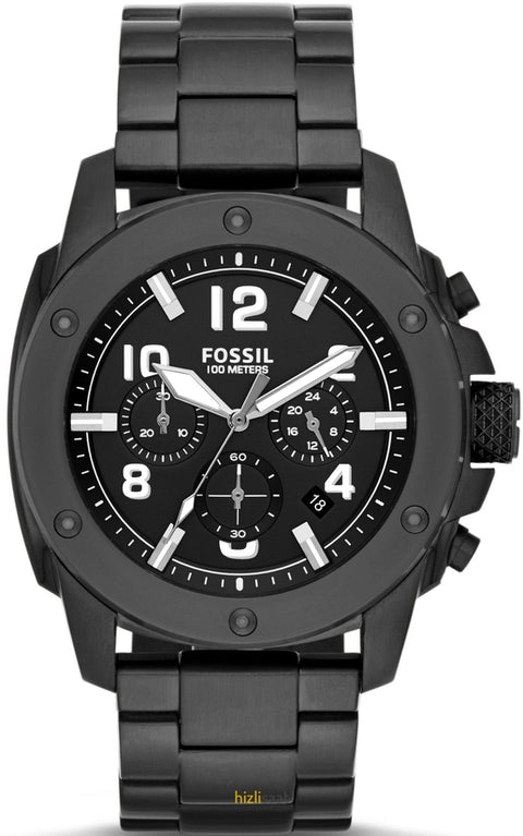 Modern Machine Chronograph All Black