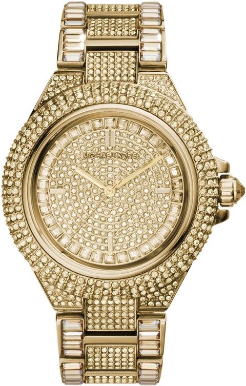 Camille Crystal Accented Gold Tone