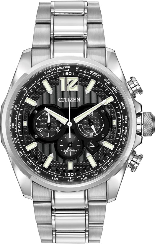 CA4170-51E Chronograph Grey Dial Stainless Steel Men's Watch