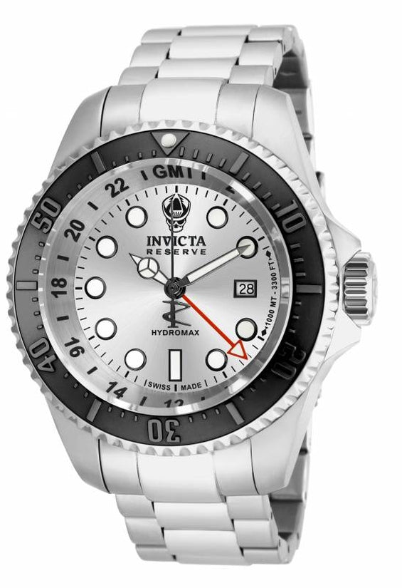 Hydromax Men's Stainless Steel Silver Dial