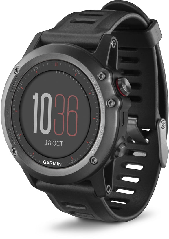 Fenix 3 Black Multisport Training GPS
