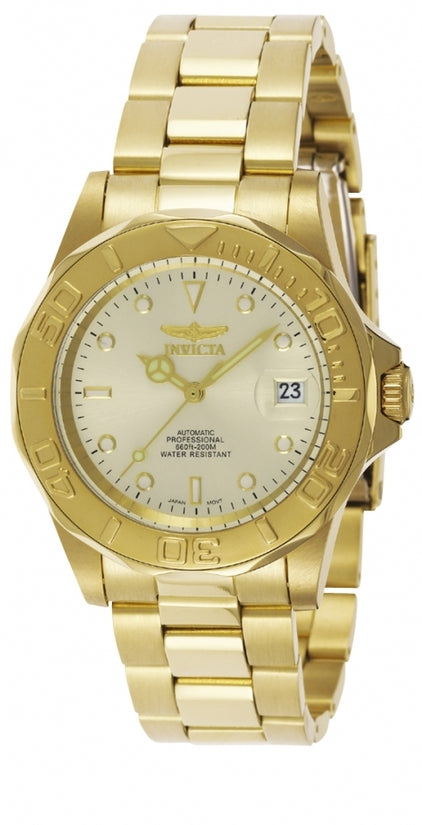 Pro Diver Men's Stainless Steel Ivory Dial