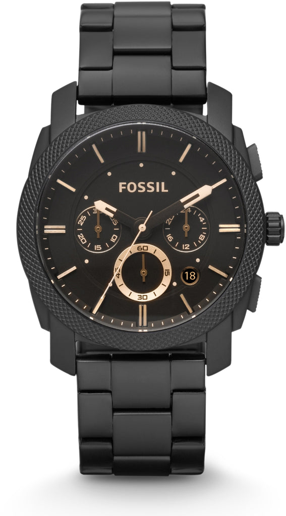 Machine MID-SIZE Chronograph Black IP
