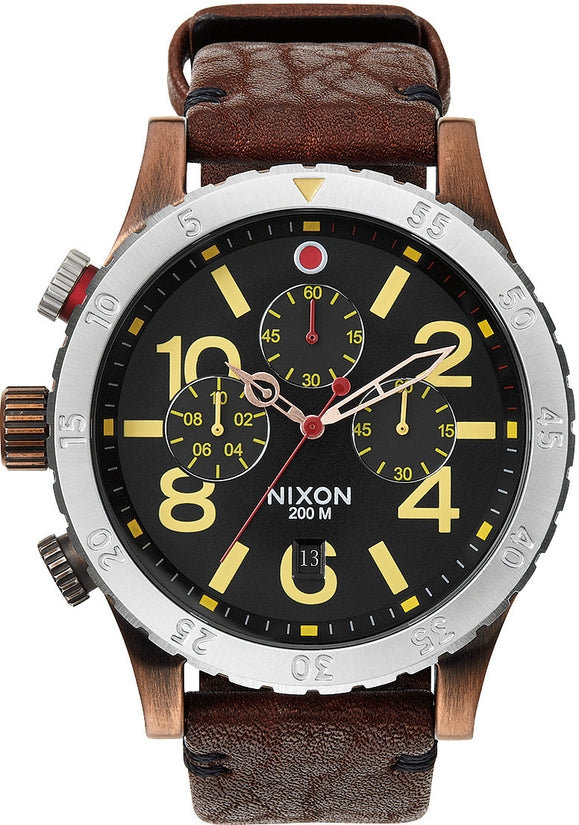 48-20 Chrono Leather Antique Copper / Brown