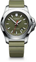 241683.1 INOX Green Rubber Removable Bumper Mens Watch