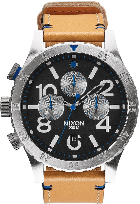 48-20 Chrono Leather Natural / Black