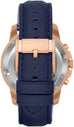 Grant Automatic Navy Leather