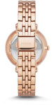 Jacqueline Crystal Accented Rose Gold Tone